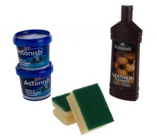 Astonish Multi Purpose Cleaning Paste and Leather Cleaner Kit