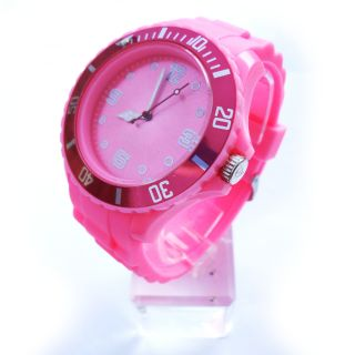 Watch Sport Watch Fashion Silicone Rubber Jelly Wrist Watch