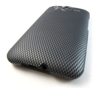 FIBER DESIGN HARD CASE COVER HTC INSPIRE 4G DESIRE HD PHONE ACCESSORY