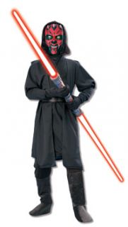 Child Small Scary Darth Maul Kids Costume Star Wars Costumes 10515