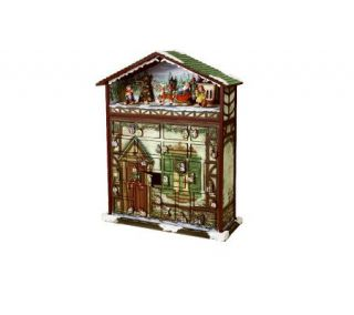 Battery Operated Musical 24 Days of Christmas Advent Calendar