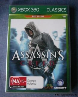 XBOX 360 Game Assassins Creed for X Box 360