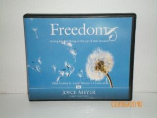 Joyce Meyer Creflo Dollar Christine Caine Freedom 5 CDs