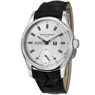 Frederique Constant Mens Vintage Rally Silver Dial Manual wind Watch