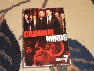 Criminal Minds Season Seven Viewed Once