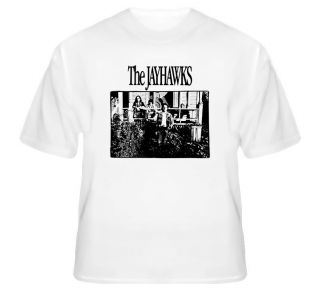 The Jayhawks Music Band Country Rock Cool White T Shirt