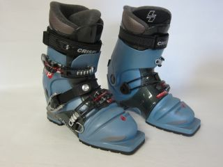 CRISPI CXP Performance Womens Size 25 Telemarking Boots 75mm