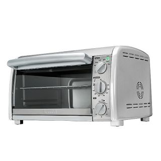 Kenmore 6 Slice Convection Toaster Oven Metal Stainless Steel