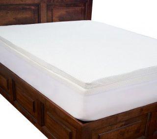 PedicSolutions 4 Double Layer Memory Foam C/K Mattress Topper