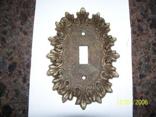 Old Antique House Electrical Switch Cover Plate
