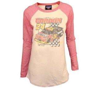 NASCAR Jeff Gordon Womens Driver Raglan T Shirt —