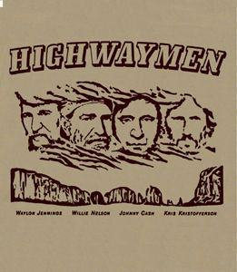 The Highwaymen T Shirt Country Music Band T Shirt Vintage Concert Tee