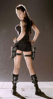 Lara Croft Tomb Raider Knee 17I Combat Biker Boots