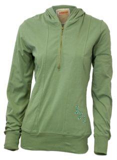 Croker Ireland Ladies Green Rhinestone Wings Hoodie s M L XL 2XL