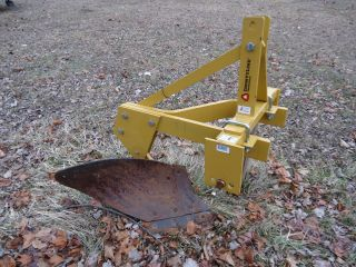 Countyline One Bottom Plow 3 Point Hitch