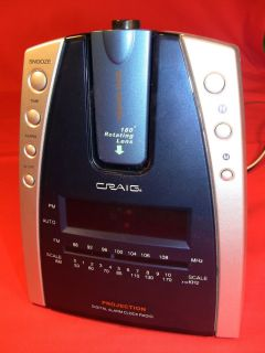 Craig Projection Digital Alarm Clock Radio