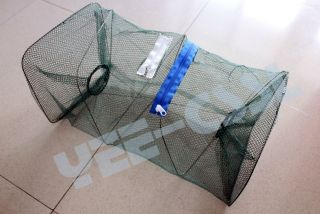 Crab trap,crab pot,half round lobster pot, Crab fish Crawdad Minnow