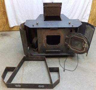 Dove Tech Corn Wood Stove Fireplace Multi Fuel Pellet Heater Burner