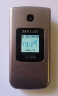Samsung SCH R261 Chrono Cricket Cell Phone Home Chargr
