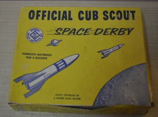 Official Cub Scout Space Derby Kit   BSA Boy Scouts of America Rocket