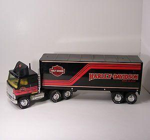 Nylint Harley Davidson 18 Wheeler Truck Tractor Trailer Semi
