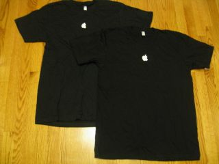 Black T Shirt New w O Tags Large LG Tee Mac Cupertino HQ L iPod