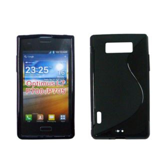 Gel TPU Case Cover for LG Optimus L7 P700 P705 New from Cubix