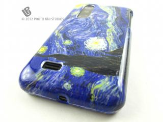 NIGHT DESIGN HARD CASE COVER LG THRILL 4G OPTIMUS 3D PHONE ACCESSORY