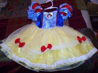 Disney Creative Designs Disney Princess Snow White Dress Size 2 4T