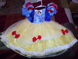 Disney Creative Designs Disney Princess Snow White Dress Size 2 4T