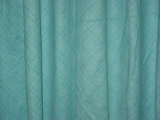 Sari Curtains Panel Door Screen Seablue Self Design Window Treatment