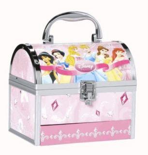 Disney Princess Cosmetic Train Case Makeup Gift Set