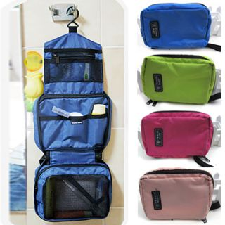 Travel Cosmetic Makeup Toiletry Purse Holder Beauty Wash Bag Organizer