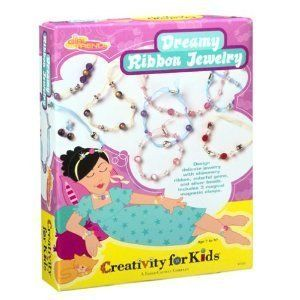 Creativity for Kids Make Your Own Ribbon Jewelry Bracelets Craft Kits