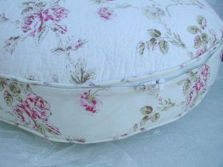 Shabby Cottage Chic Round Small Doggie/Kitty Bed Slip Cover
