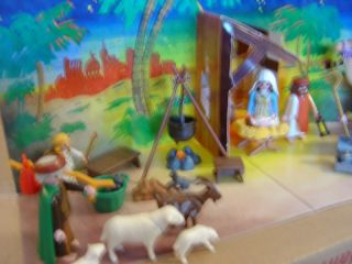 PLAYMOBIL Christmas 3996 Nativity & 3997 Wise Men