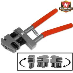 Hand Flange Steel Sheet Metal Punch and Crimping Crimp Punching Tool