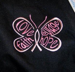 Awareness Ribbon Hope Butterfly Custom Sports Gym Duffel Bag