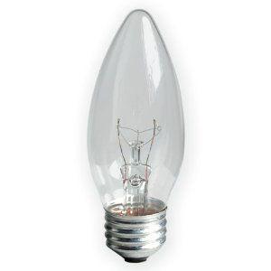 New GE Lighting 40W Crystal Clear Blunt Tip Fan Bulb