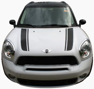 Mini Cooper Clubman Countryman Hood Stripes Decals Graphics Pro 3M