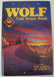 Boy Scouts of America Wolf Cub Scout Book