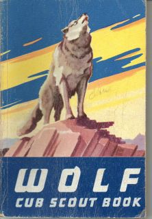 Boy Scouts of America Wolf Cub Scout Book Manual