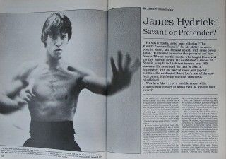 Kung Fu Magazine James Hydrick Al Dacascos Karate Martial Arts