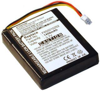 Battery for TomTom One V2 V3 Version 2 XL Rider Dach TML Regional