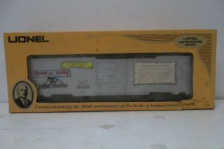Lot Lionel Cowen Commerative Box Car Trains Early Pre War 9431 9430
