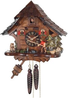 Beauty Quality Hand Carved Traditional German Cuckoo Clock