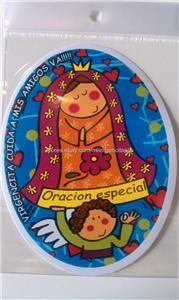 Sticker Virgencita Plis San Judas Este Cuerpo Me Toco