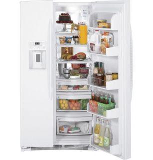 GE Profile White Advantium Five Piece Appliance Kitchen Package **
