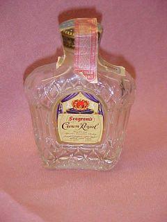 Seagrams Crown Royal Vintage 1 10th Glass Mini 1960