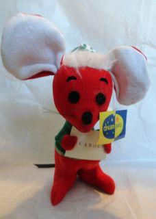 Dakin Dream Pet Ebeneezer Cheezer Christmas Mouse with Tags
